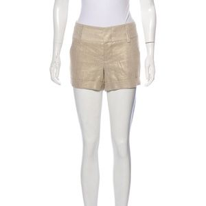COPY - Alice + Olivia Linen Mini Shorts Size Smal…
